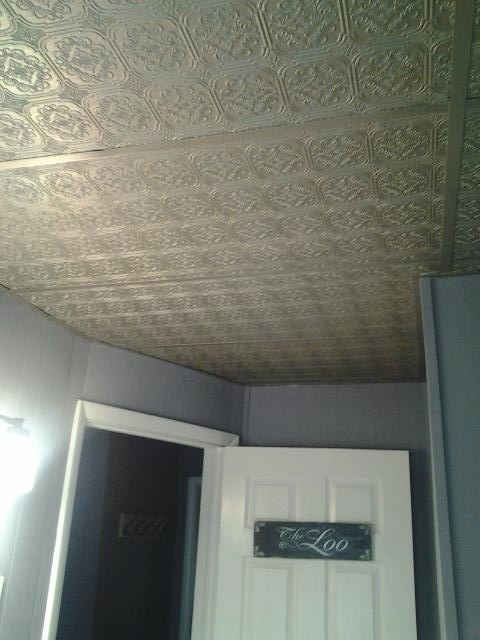 spa bath ceiling